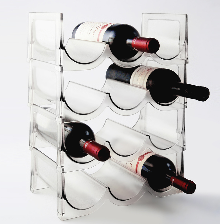 Modular Wine rack for 12 bottles