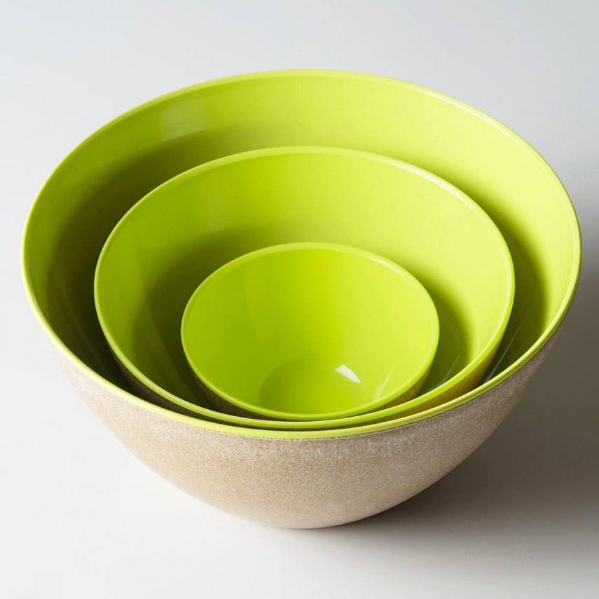 Bowl Ecoliving 1,5 litres, diameter 18,5 cm, ecosustainable