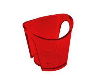 Set of 4 water cup holders, for disposable cups.