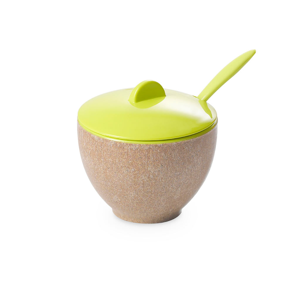 Sugar bowl Ecoliving 20 cl with teaspoon