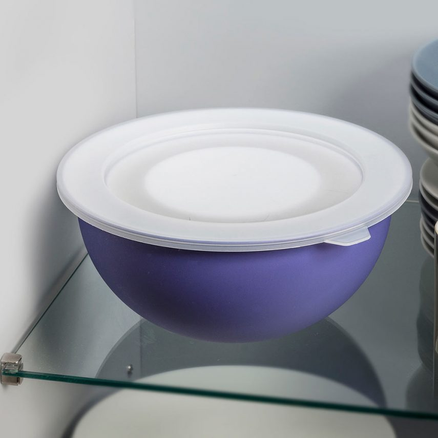 Set 5 bowls with one lid  ø 26.5 cm antibacterial Microban®