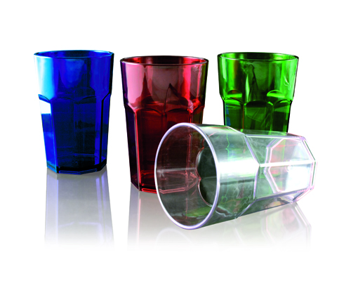 Water glass transparent 30 cl, height 9 cm