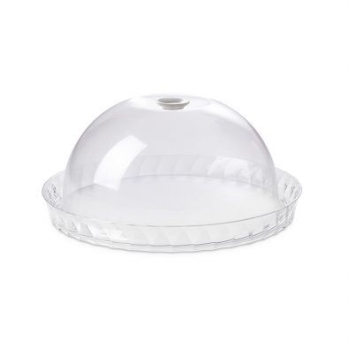 Cake tray Diamond diameter 36 cm with freshness safety dome