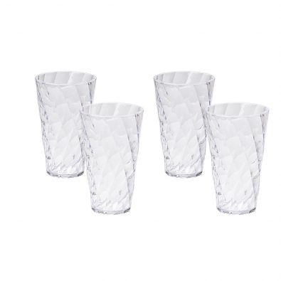 Set 4 bicchieri bibita Diamond da 50 cl