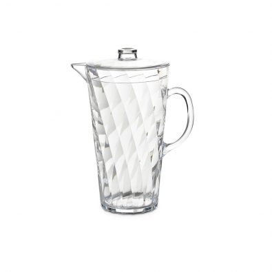 Jug Diamond with lid 2,5 litres